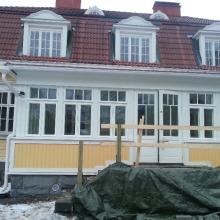 Uudet ikkunat ja pariovi